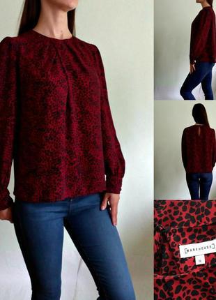 Красивейшая актуальная леопардовая блуза