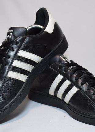 Кроссовки adidas originals superstar мужские кожаные. индия. оригинал. 44 р./28.5 см.