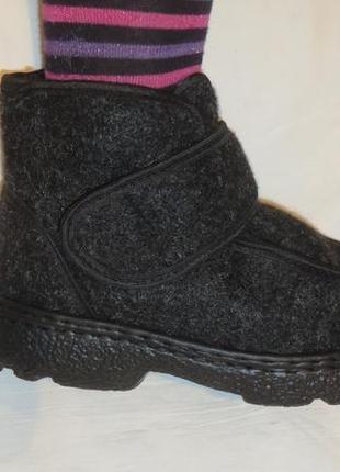 Бурки ботинки разные размеры