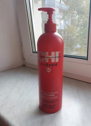 Термозащитный шампунь chi 44 iron guard shampoo больше половины