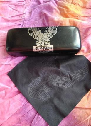 Harley davidson фирменный чехол футляр для очков или солнцезащитных очков оригинал