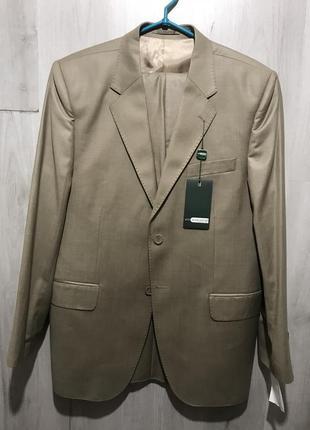 Мужской классический костюм alligattor песочно-золотистый 074 (50)