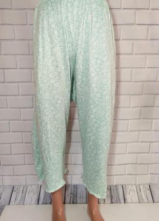 Короткие штаны для дома и сна мятного цвета, пижамные штаны / бриджи  classic elements