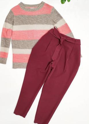 ❤️шикарные бордовые брюки