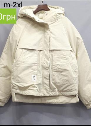 Качественная стильная куртка парка новинка осень 2019
