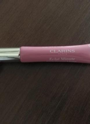 Блеск для губ clarins instant light natural lip perfector тон 07