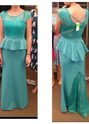 Сукня вечірня на випускний платье в пол