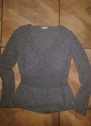 Брендовый красивый свитер