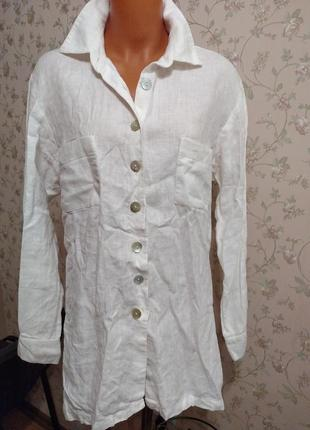 Рубашка лен франция