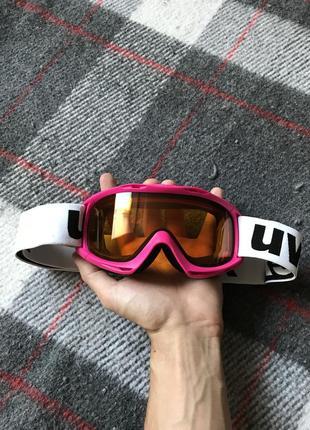 Uvex очки лыжные для гор зима оригинал