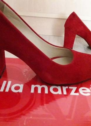 """Изящные,нарядные,удобные итальянские красные туфельки фирмы """"stella marzetti"""""""