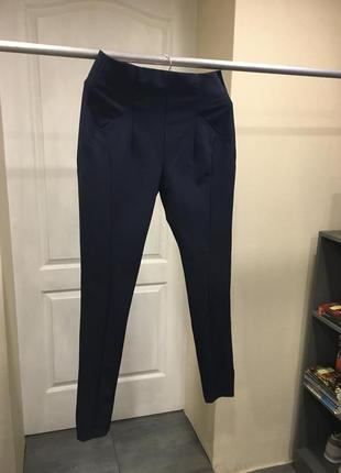 Штаны, брюки, лосины zara с высокой посадкой