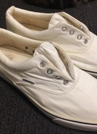 Advantage c&a кеды кроссовки белые
