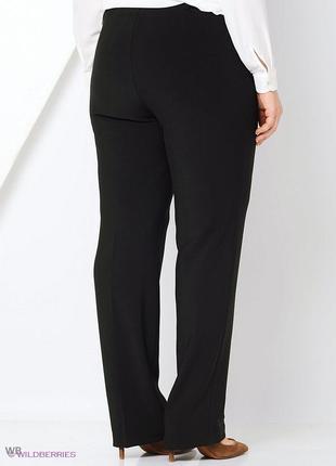 Ультра батал классические фактурные  брюки ровного кроя размер 28 для высоких