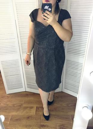 Нарядное кружевное платье, р. 22