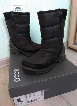 Ecco biom hike gore-tex ботинки зимние размер 31
