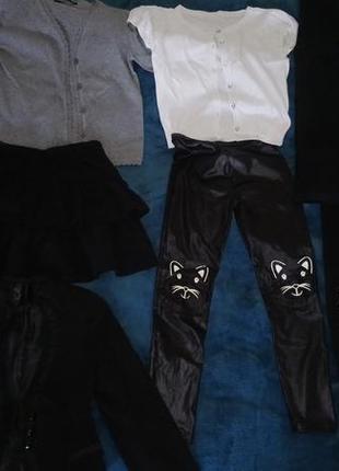 Пакет одежды, школьная форма девочке, 122,128р.