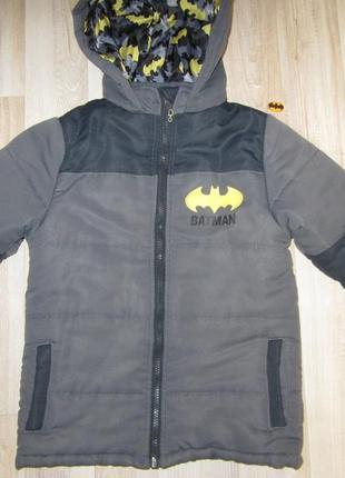 Теплая куртка бэтмен