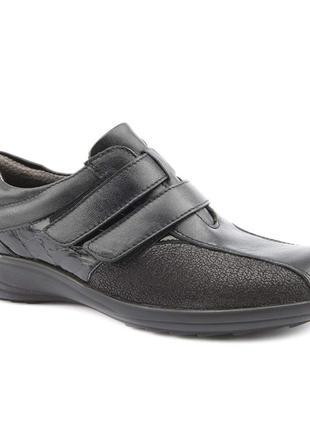 Кожаные туфли полуботинки orchard р 38 англия сост новых