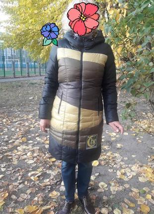 Пуховик зима м(46)