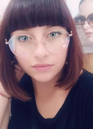 Компьютерные очки с фильтром blue-blocker!
