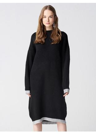 Чёрное платье dilvin