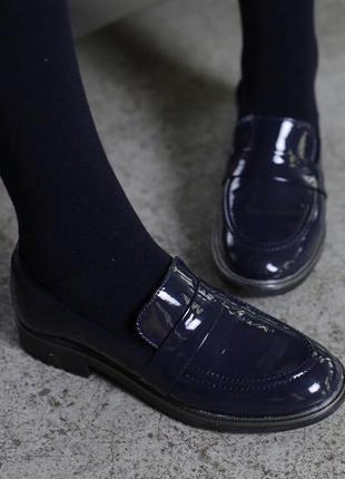 Туфли лоферы evie shoes
