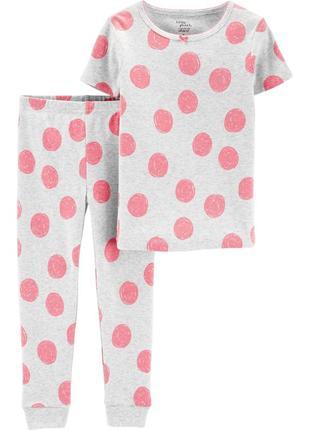 Пижама с коротким рукавом, carters 4т