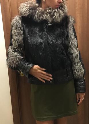 Норковая шубка, полушубок, меховая куртка