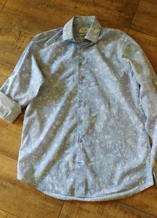 Стильная мужская брендовая рубашка