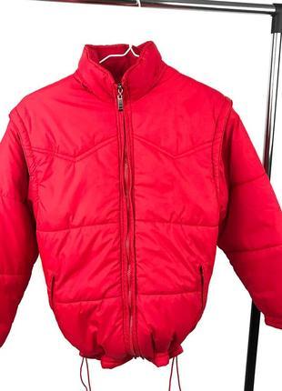 Дутик, зимняя женская куртка