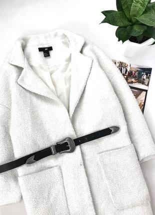 Женское бойфренд пальто h&m