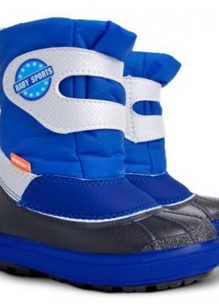 Зимние сапоги для мальчика demar baby sport