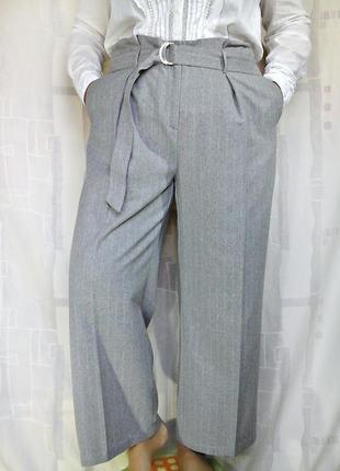 Теплые широкие брюки, юбка-брюки, брюки палаццо