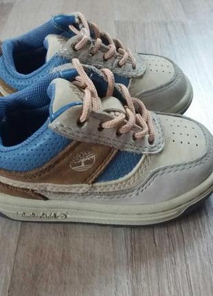 Timberland кроссовки кеды туфли кожаные на мальчика 20р.