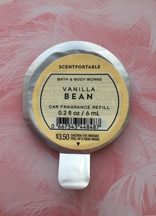 Ароматизатор в автомобиль vanilla bean bath and body works