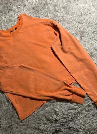 Свитер свитшот с открытыми плечами zara