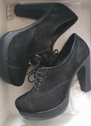 Туфли замшевые,очень классные!!!