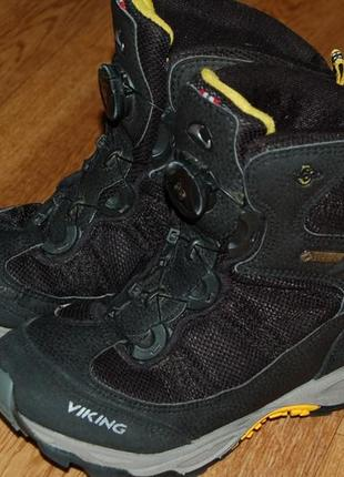 Зимние термо ботинки 33 р viking goretex оригинал хорошее состояние