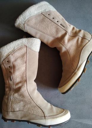 Зимние термо сапоги quechua novadry stratermic, ботинки замшевые, угги