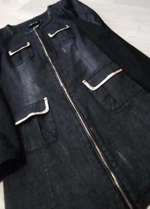 Брендовый удлиненный пиджак jil sander