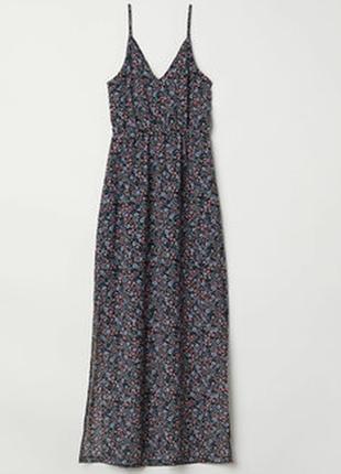 Платье макси h&m divided s