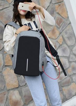 3-71 міський рюкзак анти-злодій з вбудованим usb-портом анти-вор