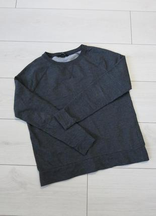 Темно-серый свитшот h&m