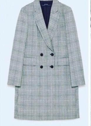 Новое шикарное пальто zara