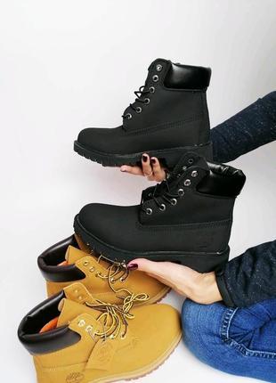Крутые женские ботинки, тимберленды