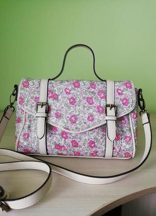 Стильна фірмова англійська сумка кросбоді laura ashley!!! оригінал!!!