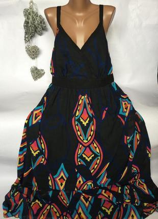 Шикарное платье сарафан в пол