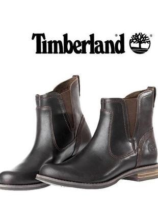 🔥скидка🔥24 часа🔥женские ботинки челки коричневые timberland earthkeepers демисезонные боты