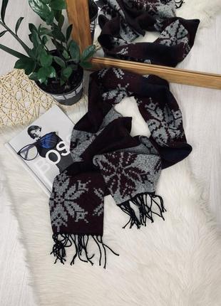 Тепленький шарф від h&m🌿